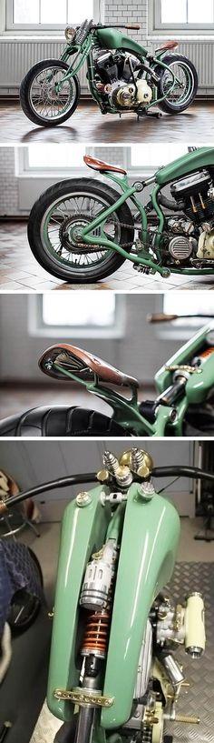 '88 Harley Sportster – Adam's Custom