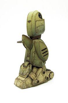 密斯特喬/MR.JOE HOBBY: 【世界的科幻模型】1/20 裝甲騎兵 VOTOMS Gundam, Scale Models, Sculpting, Robot, Handicraft, Tanks, Post Apocalyptic, Craft, Sculpture