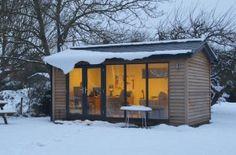 More Garden Office Week expert advice - Green Studios make the garden office super-cosy for winter