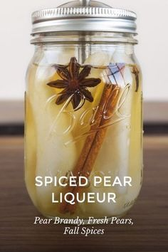 Best Pear Brandy Recipe on Pinterest