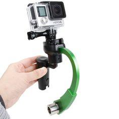 [$20.73] Special Stabilizer Bow Type Balancer Selfie Stick Monopod Mini Tripod for GoPro HERO4 /3+ /3(Green)