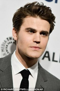 Co-stars: Vampire Diaries' Ian Somerhalder and Paul Wesley also arrive at the event