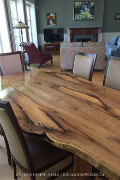 96 Best Custom Dining Tables images | Custom dining tables ...