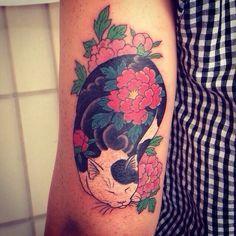 """Résultat de recherche d'images pour """"tatouage recouvrement félin"""""""