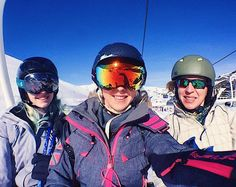 First selfie with my favourite girlies on fresh powder with beautiful sunshine = DREAMY- follow what me and the family get up to on the slopes on my Insta Stories.  Skiing with @superdryglobal LOVING my goggles  #skiing #holiday #travel @visitfrance #popcornandpyjamas