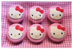 Hello kitty cupcake tutorial