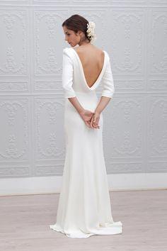 robe de mariée courte manche robe de mariée courte 25 6 margot marie ...