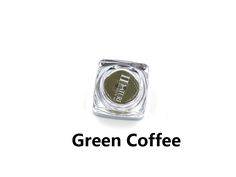 PCD Green Coffee Professional Eyebrow Micro Tattoo Ink Set Lips Microblading Permanent Makeup Pigment Colorfastness 1 Piece
