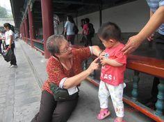 Met the Chinese child