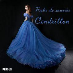 Cendrillon-Aller au bal en portant la robe de princesse, vraie princesse? | Blog officiel de PERSUN.FR