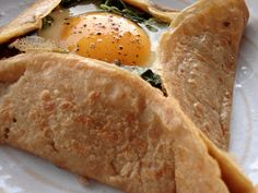 Galette du jour : Napoleon with an egg « GOURMANDE in OSAKA