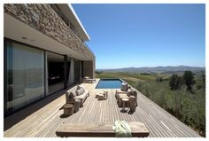 GASS Architecture Studios have designed Hillside, a family home in Stellenbosch, South Africa.