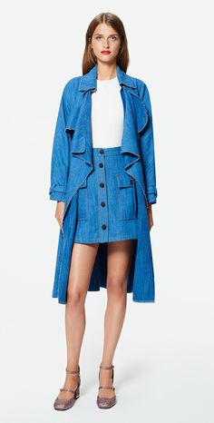 MAX&Co. SS 2016 - Tshirt CORONA / mini skirt DESSERT / pumps ALFA