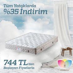 Her güne daha mutlu ve daha enerjik bir başlangıç yapmaya ne dersiniz? Tüm yataklar indirimleri fiyatlarıyla www.hibboux.com'da! #Yatak #Doğal #Enerjik #Gün #Mutlu #tbt