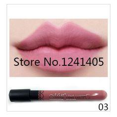 20 Colors Matte Lip Gloss Waterproof Lipstick Long-Lasting Nude Lip Stick 4.4g High Quality Makeup #MN36
