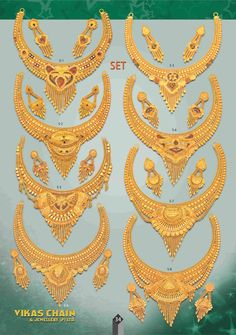 Vikas Chain & Jewellery Pvt. Ltd. Italian Gold Jewelry, Mens Gold Jewelry, Gold Jewelry Simple, Gold Jewellery Design, Gold Costume Jewelry, Gold Necklace, Simple Necklace, Gold Ornaments, Gold Set