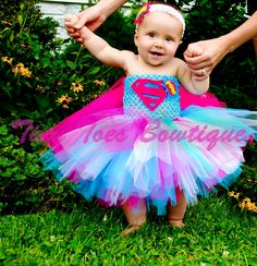 Baby Super Girl Inspired Costume by roshalsaenz on Etsy, $35.00 omg if we have a girl I swear she will be super girl for next Halloween!!