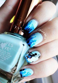 Nail Art: Disney Mary Poppins