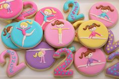 gymnastics birthday party favors