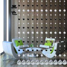 5 Metros de Cristal Facetado Contas de Vidro Cortina De Porta Janela de Cordas Cortina Divisória Varanda Casa Festa de Casamento Decoração DIY