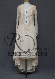 Tail Gown Dresses Style in Pakistan 2013 Frock Designs