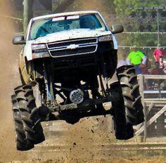 Chevy runs deep Lifted Chevy Trucks, Hot Rod Trucks, Chevrolet Trucks, Gmc Trucks, Cool Trucks, Chevy 4x4, Chevy Pickups, Big Monster Trucks, Silverado Truck