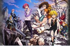 seven deadly sins anime - Google Search