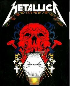 Metallica Album Covers, Metallica Albums, Metallica Art, Rock Band Posters, Thrash Metal, Concert Posters, Great Bands, The Rock, Cover Art