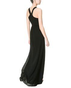 ZARA - TRF - DRESS WITH SIDE SLITS