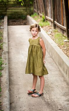 bohemian babydoll dress by rachel stitched together, via Flickr