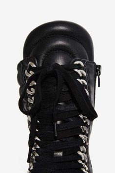 Lust For Life Oasis Leather Combat Boot - Sale: Newly Added | Sale: 40% Off | Boots