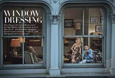 Bobbins and Bombshells: Retro Looks In The Modern World: Window Dressing