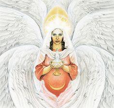 Círculos de Poder de la Diosa: junio 2013 MITOLOGIA Sofía (se pronuncia sew-fee'ah) en griego, Hohkma en hebreo, Sapientia en Latín, todas significan sabiduría. Como Diosa de la Sabiduría, tiene como símbolo la paloma, que representa el espíritu. Además, esta coronada con estrellas que indican su absoluta divinidad. The Goddess Oracle by Hrana Janto&Amy Sophia Marashinsky