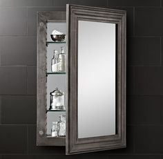 "About $900 Each  Large Recessed Box 22 14""w X 4 12""d X 32 12 Beauteous Small Bathroom Medicine Cabinet Design Decoration"