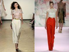 Онлайн вестник Струма - Мода - Отново актуални-панталони с широки крачоли