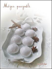 Gesztenye receptjei: Mézes puszedli Latsiától, Sütis nénétől Gingerbread, Garlic, Food, Ginger Beard, Essen, Meals, Yemek, Eten