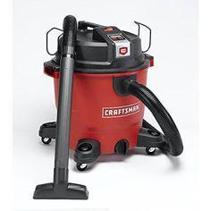 Craftsman Xsp 16 Gallon 6.5 Peak Hp Wet/Dry Shop Vac/Blower, 2015 Amazon Top Rated Wet/Dry Vacuums #HomeImprovement