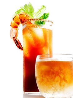 Magic Mary. New twist on a classic Bloody Mary!