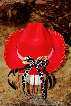 Adult Delux Jessie Red Cowboy Hat Toy Story by DarlingInDisguise, $20.00