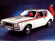 This was our car when we got married. The original hatchback. Ha!