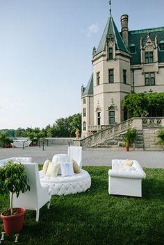 Weddings at the Biltmore Estate! // Engage!13: Great Gatsby Wedding Theme // engage13.com at the Biltmore Estate http://www.biltmore.com/