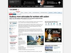 Mother of son with Asperger's wants employers to be more inclusive to people with autism.