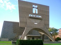 St. John's Abbey by Marcel Breuer architect, at Collegeville, Minnesota, 1953 to 1961 by studioloraine, via Flickr