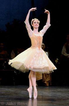 John Ross Ballet Gallery - Alison McWhinney in Pas de Trois. ✯ Ballet beautie, sur les pointes ! ✯