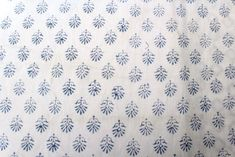 Indian Cotton Fabric Hand Block Printed Handmade Booti Print Fabric 9 Yard  #Handmade