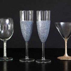 Learn how to make completely dishwasher safe, loose glitter glassware with this step by step tutorial!