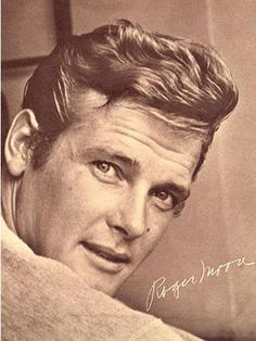 Roger Moore The Staint & 007