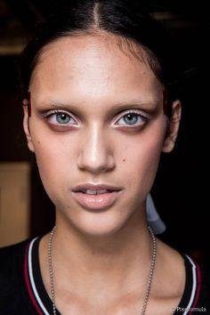Un make up da sfilata.