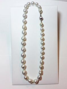 Natural Genuine South Sea Cultured Pearl Necklace 14k Gold