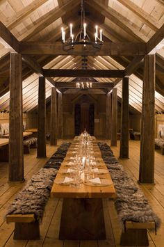Feast hall. House inspiration